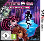 Monster High - New Ghoul in School 3DS cover (BMSP)