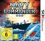 Navy Commander 3DS cover (BNCP)