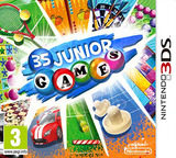 Junior Games 3D 3DS cover (AJCP)