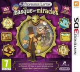 Professeur Layton et le Masque des Miracles 3DS cover (AKKF)