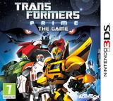 Transformers Prime - The Game 3DS cover (ATPP)