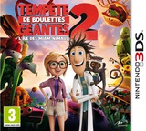 Cloudy with a Chance of Meatballs 2 pochette 3DS (AD5P)