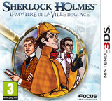Sherlock Holmes - The Mystery of the Frozen City pochette 3DS (AHAP)