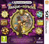 Professor Layton and the Miracle Mask pochette 3DS (AKKP)