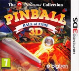 Pinball Hall of Fame 3D - The Williams' Collection pochette 3DS (APBP)