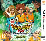 Inazuma Eleven GO - Chrono Stones - Thunderflash pochette 3DS (ARAP)