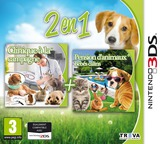 2 in 1 - My Vet Practice 3D - In the Country + My Baby Pet Hotel 3D pochette 3DS (BELP)