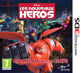 Big Hero 6 - Battle in the Bay pochette 3DS (BH6P)