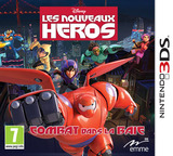 Big Hero 6 - Battle in the Bay pochette 3DS (BH6Z)
