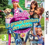 Barbie & Her Sisters - Puppy Rescue pochette 3DS (BRQZ)