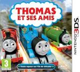 Thomas et Ses Amis - Toute vapeur sur l'île de Chicalor pochette 3DS (BTBP)