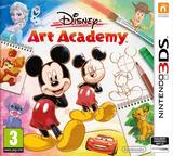 Disney Art Academy pochette 3DS (BWDP)