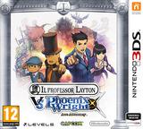Professor Layton vs. Phoenix Wright - Ace Attorney 3DS cover (AVSP)