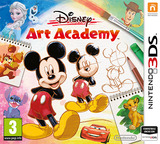 Disney Art Academy 3DS cover (BWDP)
