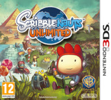 Scribblenauts Unlimited 3DS cover (ASLP)
