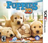 Puppies 3D 3DS cover (ACTE)