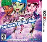Monster High - Skultimate Roller Maze 3DS cover (AH5E)