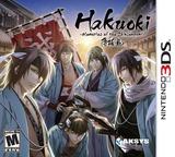 Hakuoki - Memories of the Shinsengumi 3DS cover (AH9E)