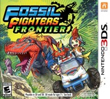 Fossil Fighters - Frontier 3DS cover (AHRE)