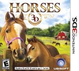 Horses 3D 3DS cover (AHSE)