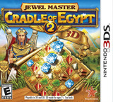 Jewel Master - Cradle of Egypt 2 3D 3DS cover (AJEE)
