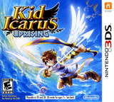 Kid Icarus - Uprising 3DS cover (AKDE)