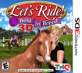 Let's Ride! Best in Breed 3D 3DS cover (ALDE)