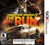 Need for Speed - The Run 3DS cover (ANSE)