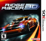 Ridge Racer 3D 3DS cover (ARRE)