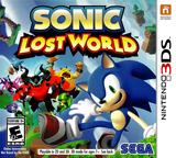 Sonic - Lost World 3DS cover (ARVE)