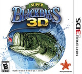 Super Black Bass 3D 3DS cover (ASBE)