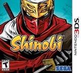 Shinobi 3DS cover (ASVE)