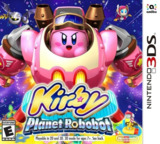 Kirby: Planet Robobot 3DS cover (AT3E)