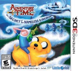 Adventure Time - The Secret of the Nameless Kingdom 3DS cover (AVTE)