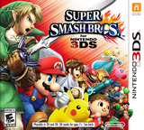 Super Smash Bros. for Nintendo 3DS 3DS cover (AXCE)