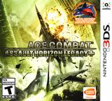 Ace Combat - Assault Horizon Legacy+ 3DS cover (BCRE)