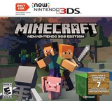 Minecraft: New Nintendo 3DS Edition 3DS cover (BD3E)