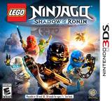 LEGO Ninjago - Shadow of Ronin 3DS cover (BLSE)
