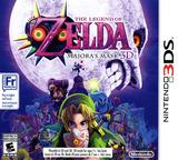The Legend of Zelda - Majora's Mask 3D 3DS cover (AJRE)