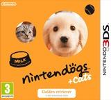 Nintendogs + Cats - Golden Retriever & New Friends pochette 3DS (ADAP)