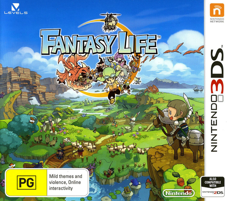 Fantasy Life Array coverHQ (AFLP)