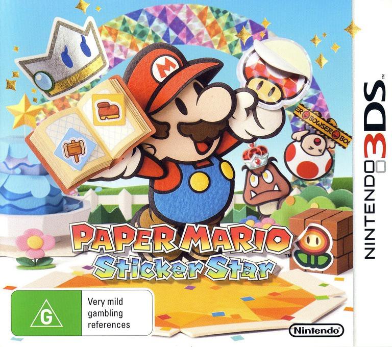Paper Mario - Sticker Star 3DS coverHQ (AG5P)