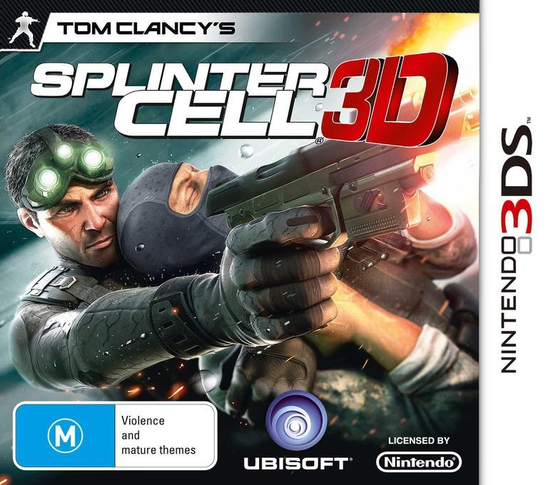 Tom Clancy's Splinter Cell 3D 3DS coverHQ (ASCP)