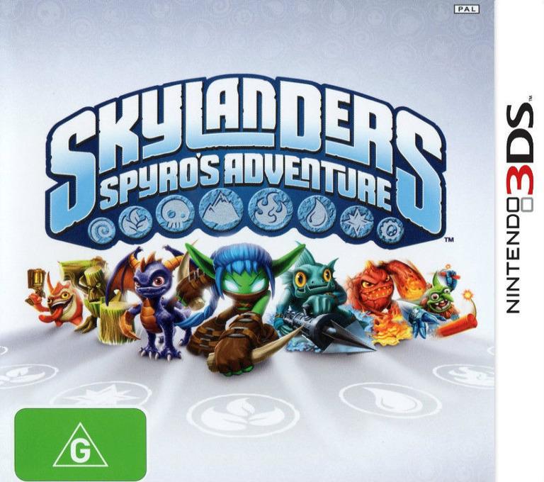 Skylanders - Spyro's Adventure 3DS coverHQ (ASPP)