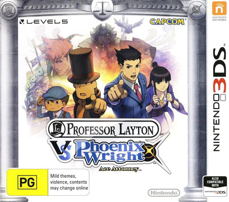 Professor Layton vs. Phoenix Wright - Ace Attorney 3DS coverHQ (AVSP)