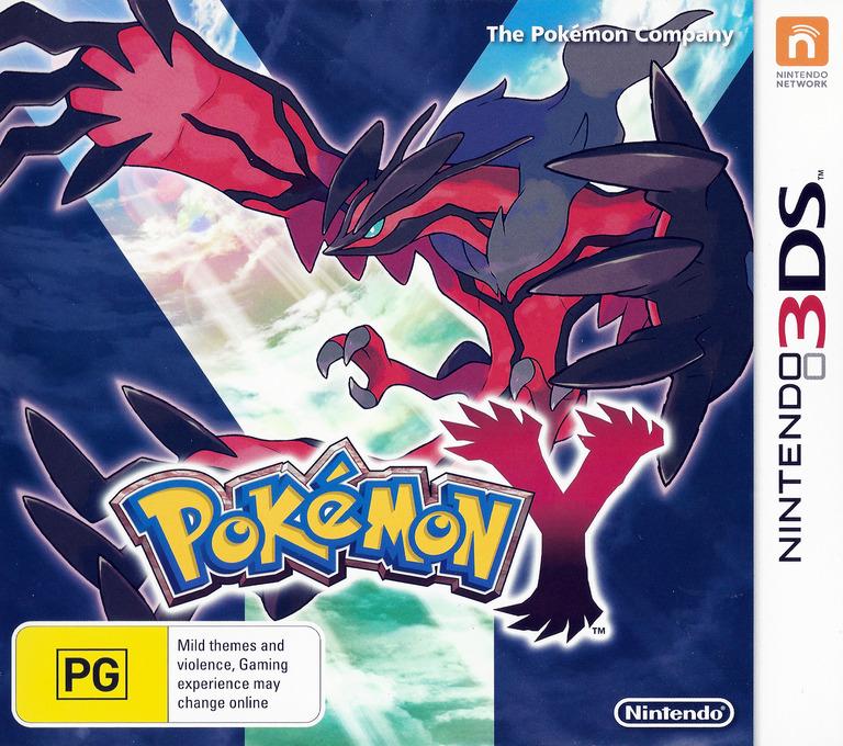 Pokémon Y Array coverHQ (EK2P)