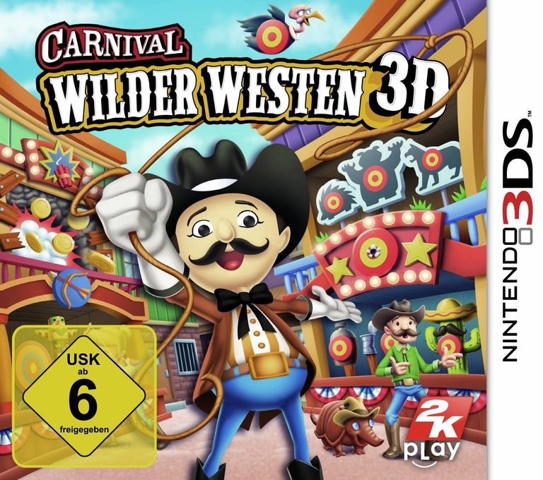 Carnival - Wilder Westen 3D 3DS coverHQ (AW2P)