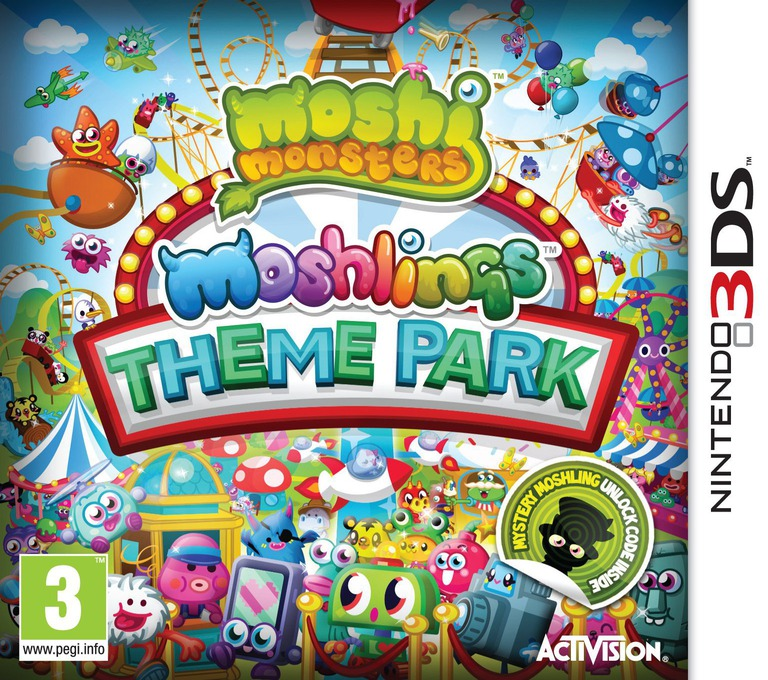 Moshi Monsters - Moshlings Theme Park 3DS coverHQ (AA9P)