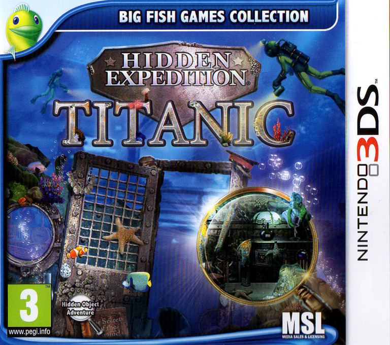 Hidden Expedition - Titanic 3DS coverHQ (AASP)