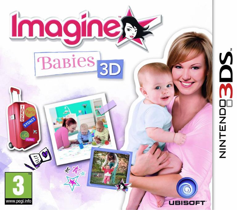 Imagine - Babies 3D 3DS coverHQ (ABAP)